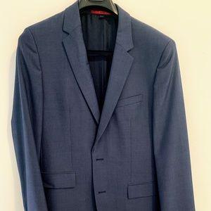 Hugo Boss Blue Super 100 Blazer Sports Coat 40R